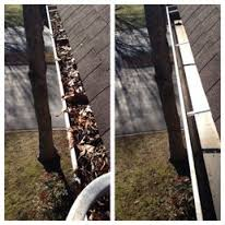 gutter before and after